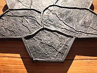 """Резиновый штамп для печатного бетона и штукатурки """"Цветок"""" (форма для печатного бетона), фото 6"""