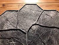 """Резиновый штамп для печатного бетона и штукатурки """"Цветок"""" (форма для печатного бетона), фото 8"""