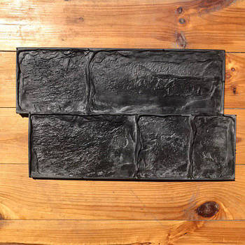 """Форма-штамп для бетонних доріжок, підлоги і стін """"Брук"""""""