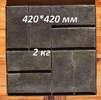 """Поліуретановий штамп для підлоги """"Паркет"""", для підлоги і доріжок, фото 2"""