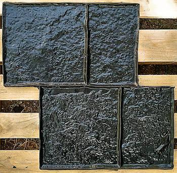 "Гумова форма штамп для штампованого бетону ""Старий Бердянськ 1"" (форма для штампованого бетону)"