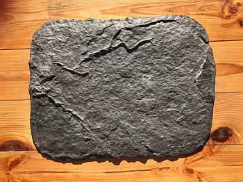 """Резиновый штамп для бетона и штукатурки """"Скала"""", средний , с трещиной (форма для печатного бетона)"""