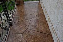 """Штамп полиуретановый для бетона и штукатурки """"Скала"""", большой, для пола и стен, фото 4"""
