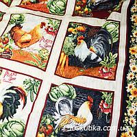 53012 Фермерская (купон). Ткань с изображением птиц. Ткани для декора и рукоделия., фото 1