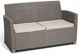Набір садових меблів Corona Lounge Set зі штучного ротанга, фото 6
