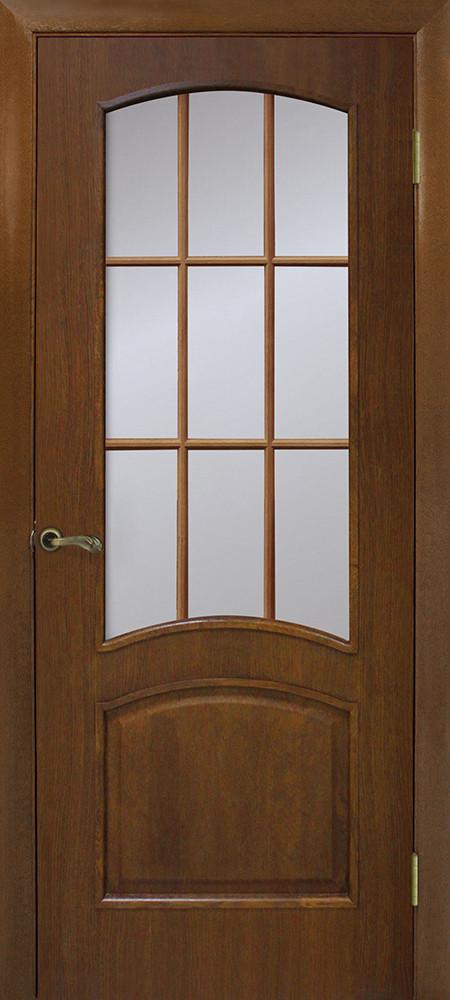 Дверь межкомнатная Омис Капри ПО без стекла орех