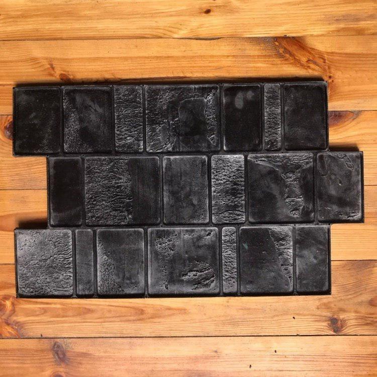"""Резиновый штамп для печатного бетона """"Брусчатка"""" (форма для печатного бетона)"""