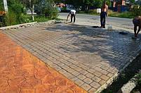 """Резиновый штамп для печатного бетона """"Брусчатка"""" (форма для печатного бетона), фото 7"""