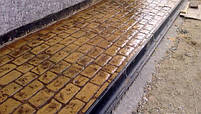 """Резиновый штамп для печатного бетона """"Брусчатка"""" (форма для печатного бетона), фото 8"""