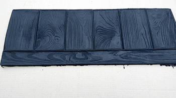 """Поліуретановий штамп для бетону """"Бордюр-Палуба"""", для підлоги і доріжок"""