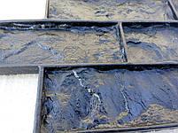 """Полиуретановый штамп-форма для плитки """"Колотый кирпич"""" 2 в 1, фото 6"""