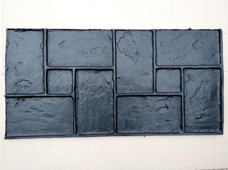 """Гумовий штамп для штампованого бетону """"Обкладинка"""" (форма для штампованого бетону)"""