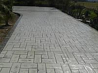 """Гумовий штамп для штампованого бетону """"Обкладинка"""" (форма для штампованого бетону), фото 5"""