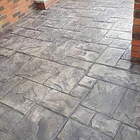 """Резиновый штамп для печатного бетона """"Тесаный Камень №1"""" (форма для печатного бетона), фото 2"""
