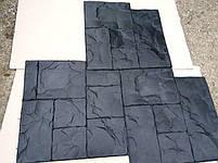 """Резиновый штамп для печатного бетона """"Тесаный Камень №1"""" (форма для печатного бетона), фото 7"""