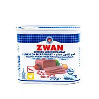 Колбаса халяль куриная острая Zwan 340 грамм