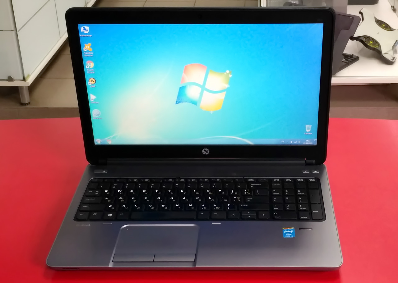 "Ноутбук HP ProBook 650 G1 15.6"" Intel Core i5 2.6 GHz 8 GB RAM 500 HDD Black-Silver Б/У"