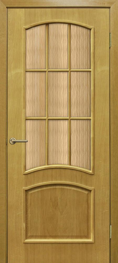 Дверь межкомнатная Омис Капри СС кора бронза ДНТ