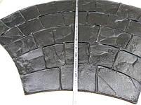 """Гумовий штамп для штампованого бетону """"Віяло Великий"""" (форма для штампованого бетону), фото 2"""