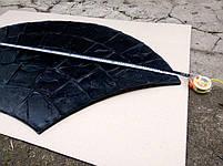 """Гумовий штамп для штампованого бетону """"Віяло Великий"""" (форма для штампованого бетону), фото 3"""