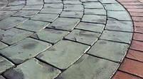 """Гумовий штамп для штампованого бетону """"Віяло Великий"""" (форма для штампованого бетону), фото 7"""