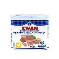 Мортаделла (колбаса)халяль куриная Zwan 340 грамм