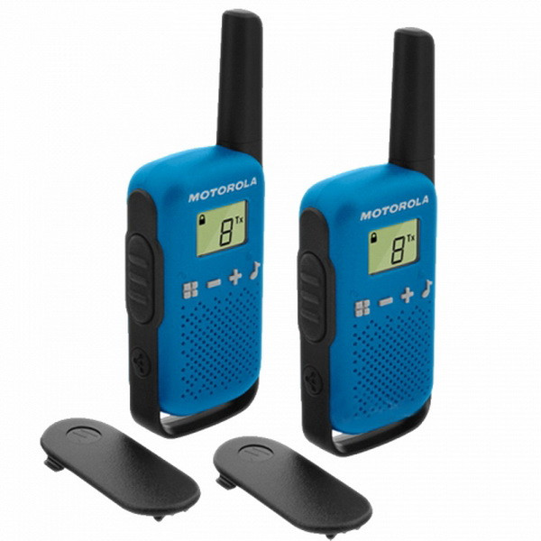 Рация Motorola Talkabout T42 TWIN PACK, синяя