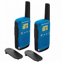 Рация Motorola Talkabout T42 TWIN PACK, синяя