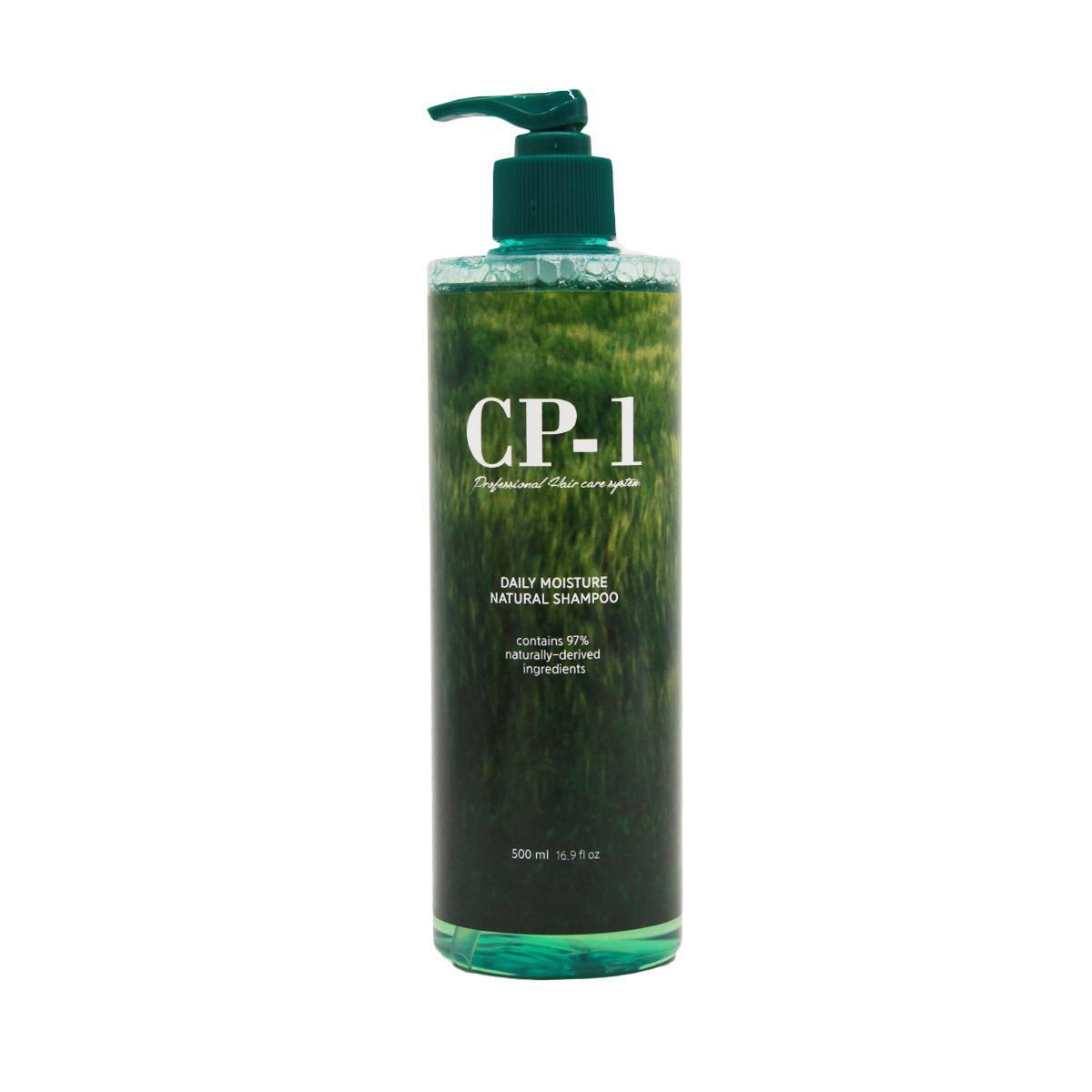 Натуральний шампунь з протеїнами і зеленим чаєм Esthetic House CP-1 Daily Moisture Natural shampoo