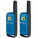 Рация Motorola Talkabout T42 TWIN PACK, синяя, фото 3