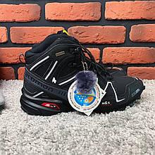 Зимние ботинки  (на меху)  мужские Salomon Speedcross 3 (реплика)  6-032 ⏩ [ 41,,44,44,44,44 ]