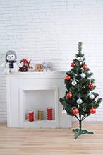 Искусственная ель Зеленая 1,5м ПВХ - Новогодняя елка от производителя