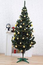 Искусственная ель Зеленая 2м ПВХ - Новогодняя елка от производителя