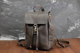 Рюкзак модель №111 мини Кожа винтажная цвет шоколад