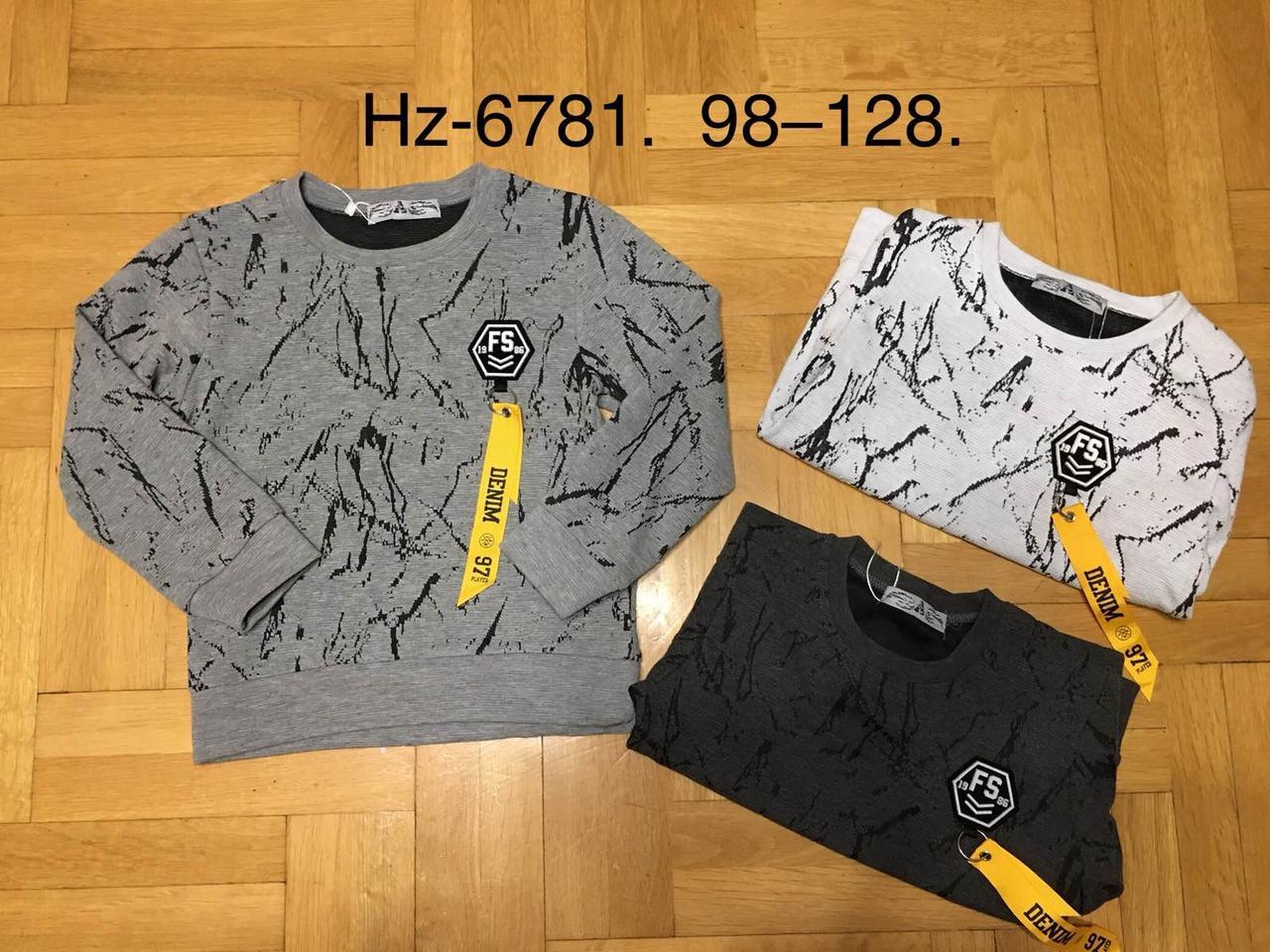 Регланы для мальчиков оптом, размеры 98-128 р, Active Sports, арт. HZ-6781.