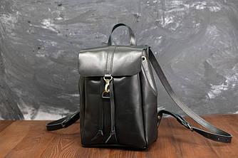 Рюкзак модель №111 мини Кожа винтажная цвет черный
