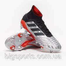 Бутсы футбольные муж. Adidas Predator 19.1 (арт. F99986)