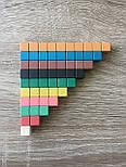 Рахункові палички Кюїзенера (126 шт), 10 кольорів, дерево, фото 3
