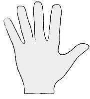 Что используют при опудривании перчаток?