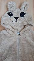 Тепла кофта Glo-Story Котик для дівчинки 98-122 116 бежевий