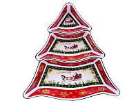 Менажница Новогодняя коллекция 24 см 986-066