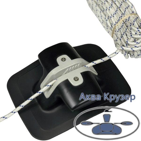 Якорная веревка канат для якоря d=7мм (30 м) для надувных лодок ПВХ