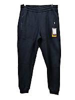 Брюки теплые мужские Escetic на манжетах зимние спортивные штаны Синие