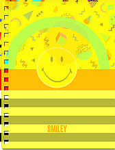 Зошит А5/144 пл.обкл. SMILEY YES