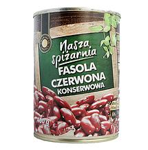 Консервированная фасоль Nasza Spizarnia Fasola Czerwona 400 г