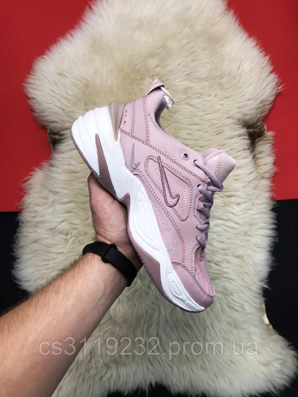 Женские кроссовки  Nike M2K Tekno Pink White(розовые)