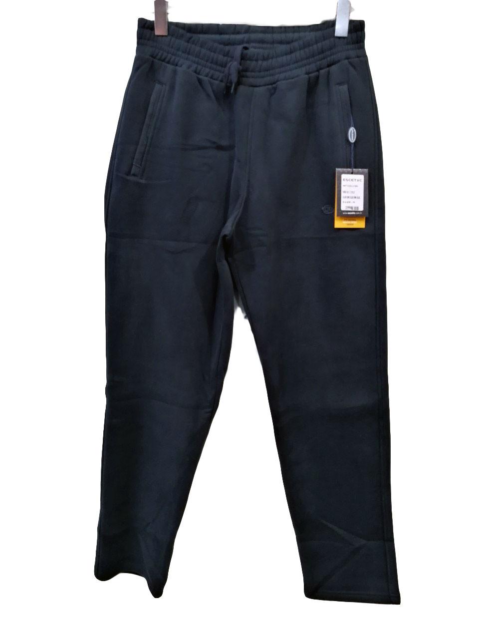 Штани теплі чоловічі Escetic прямі зимові спортивні штани Сині