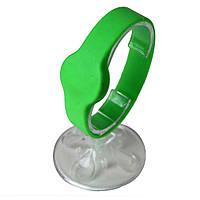 RFID браслет силиконовый с чипом Mifare Classic 1K, 5 шт, Ardix R (45-74), зеленый, 04-001-GR