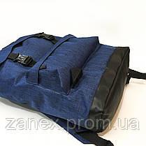 Рюкзак Zanex 20 литров туристический городской синий 50 x 28, фото 3
