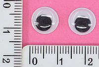 Глаза детские игрушка кругл10мм уп=100шт